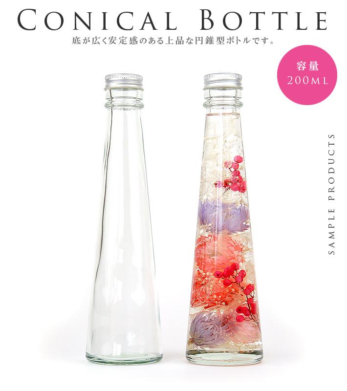 円錐型ボトル専用パッケージ
